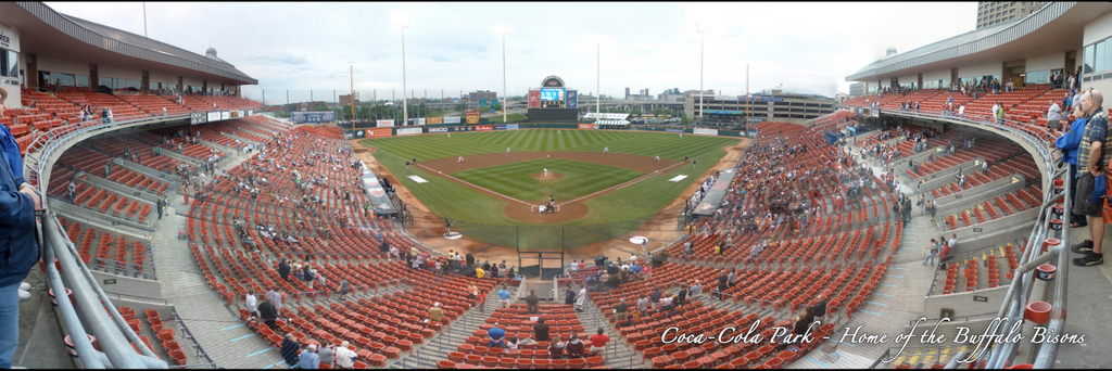 Buffalo Bisons- Coca-Cola Field Upper Deck