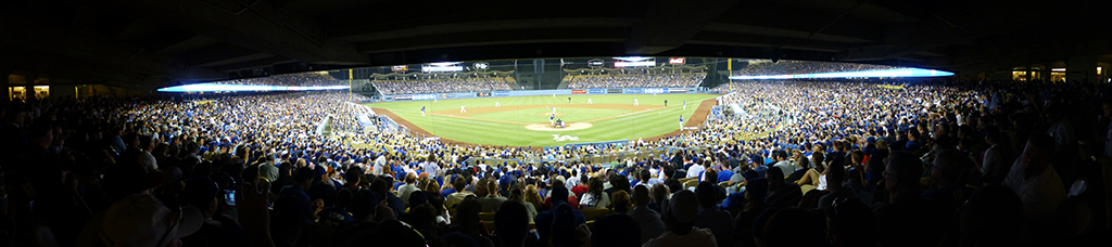 Dodger Stadium Panorama - Los Angeles Dodgers - Infield Box