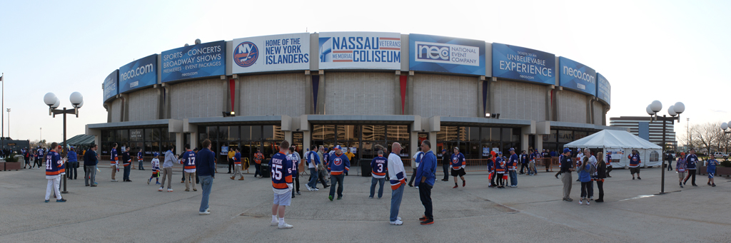 Nassau Coliseum - Home of the New York Islanders - Playoffs 2015