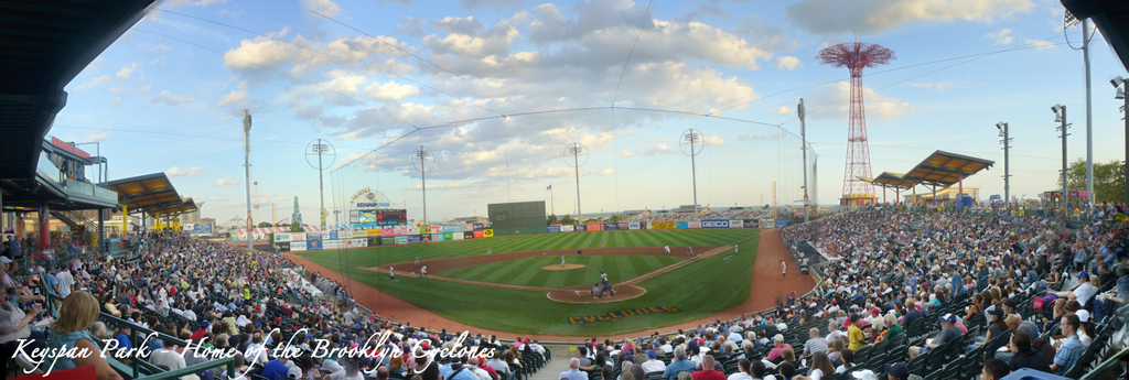 Brooklyn Cyclones - Keyspan Park - Home Plate