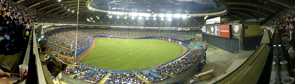 Olympic Stadium Rightfield Panorama - Home of the Montreal Expos