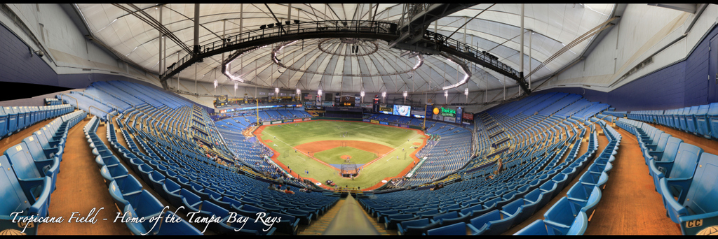 Tropicana Field - Tampa Bay Rays - Upper Reserved Back Row
