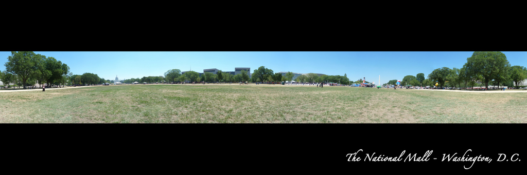 360 degree Panorama of the National Mall - Washington, DC