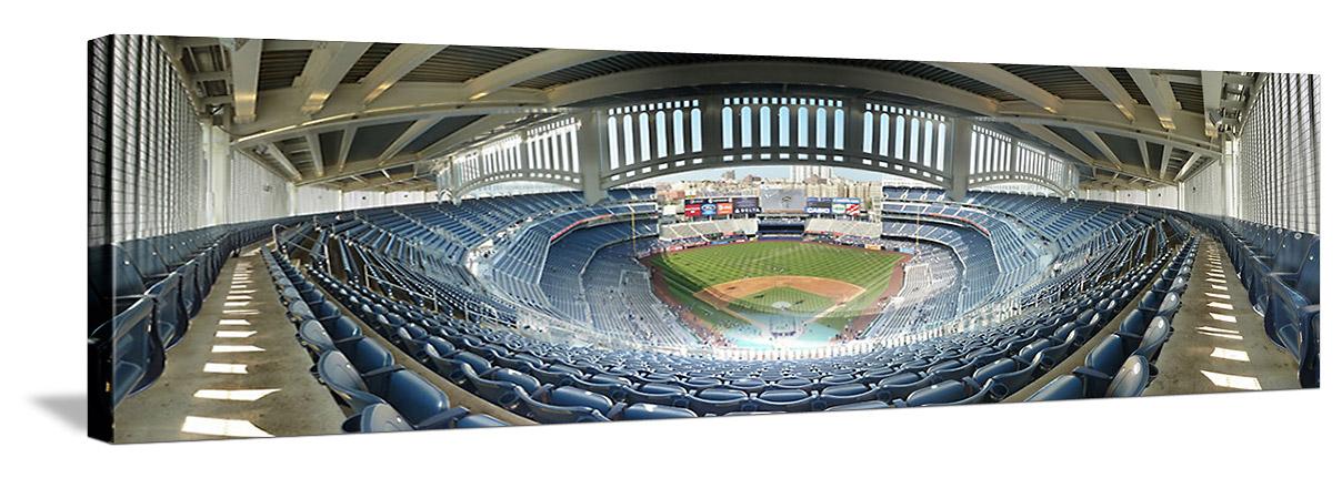 Yankee Stadium Panorama - New York Yankees - Frieze Grandstand