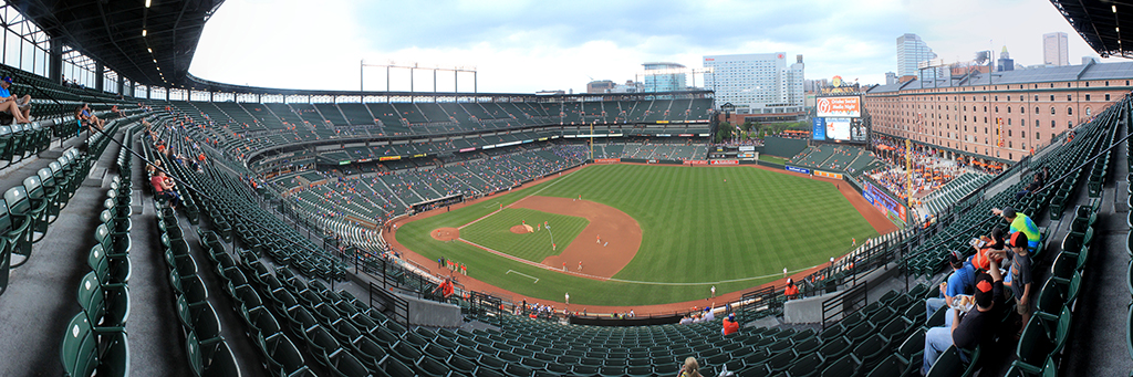 Camden Yards Panorama - Baltimore Orioles - Upper Reserve RF