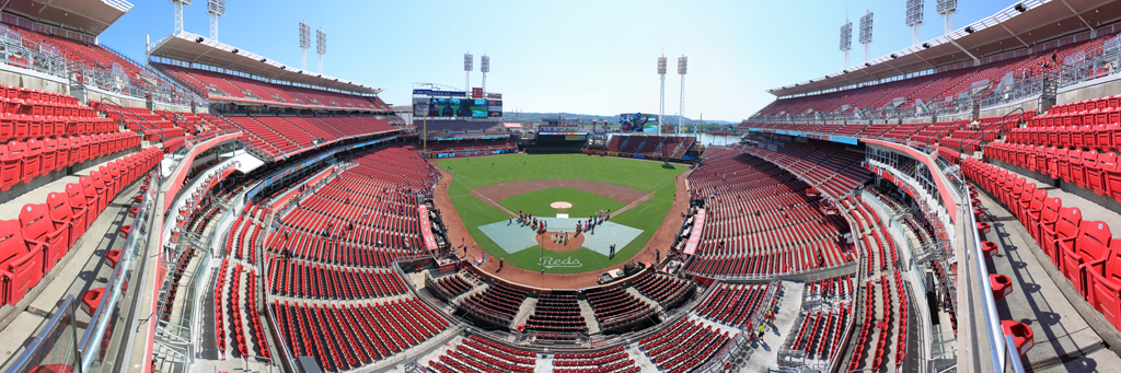 Great American Ball Park Panorama - Cincinnati Reds - View Level