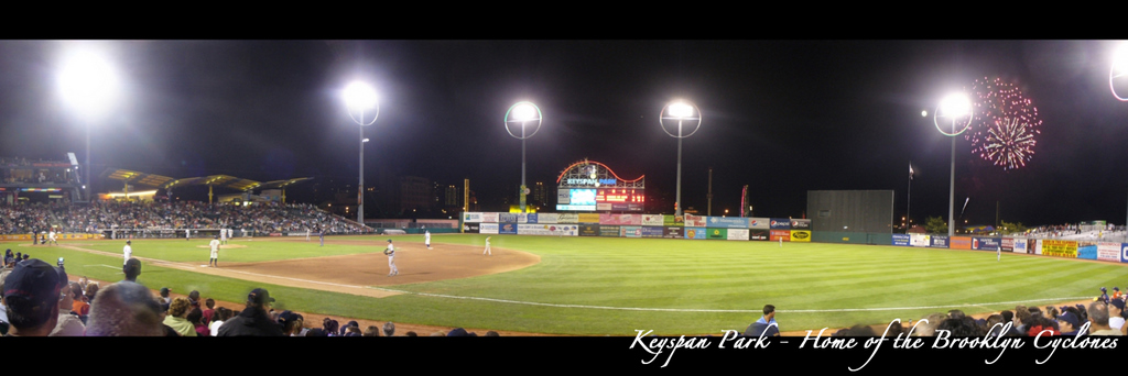Brooklyn Cyclones - Keyspan Park Fireworks