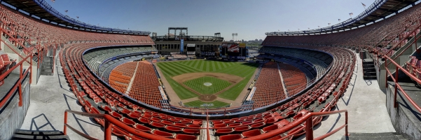 Shea Stadium Panorama - Former home of the New York Mets