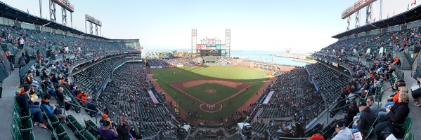 AT&T Park Panorama - San Francisco Giants - Pre-Game Front Row