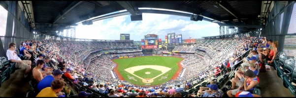 Citi Field Panorama - New York Mets - All Star Weekend