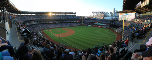 Safeco Field Panorama - Seattle Mariners - Right Field Corner