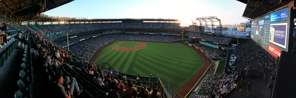 Safeco Field Panorama - Seattle Mariners - Upper Level CF