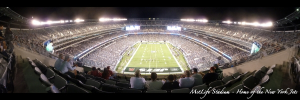 NY Jets - MetLife Stadium Upper Deck behind Goal Line