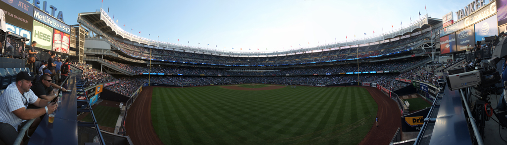 Yankee Stadium Panorama - New York Yankees - Center Field View