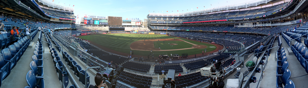 Yankee Stadium Panorama - New York Yankees - 3B Field Level View