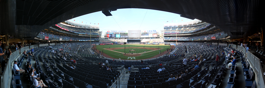 Yankee Stadium Panorama - New York Yankees - Field Level Home