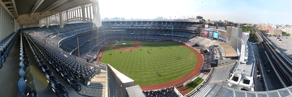 Yankee Stadium Panorama - New York Yankees - Grandstand Last Row