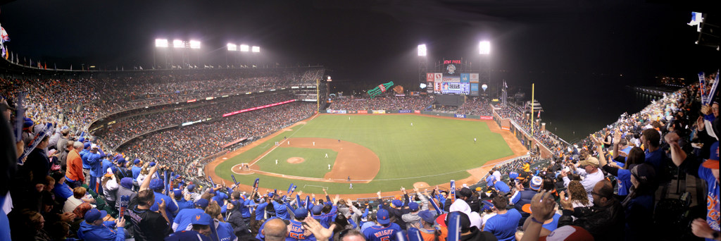 AT&T Park Panorama - San Francisco Giants - The7Line Section